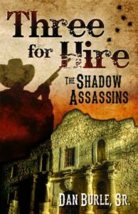 Book Cover: Three for Hire: The Shadow Assassins