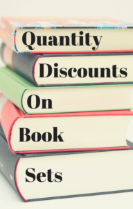 Book Cover: Quantity Discounts on Book Sets