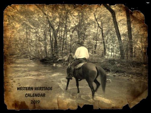 Old Time Cowboy / Ranch Horse 2019 Calendar