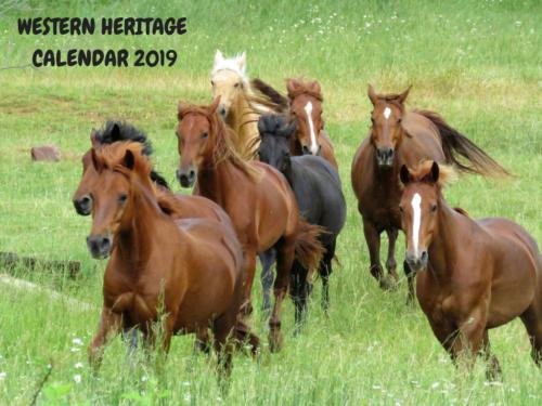 Western Heritage 2019 Calendar